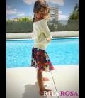 Crochet skirt cotton