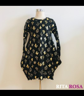 Cloe dress cactus winter