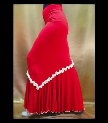 Falda de esayo flamenco modelo 10/rush lycra