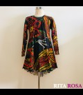 Cloe dress Africa winter