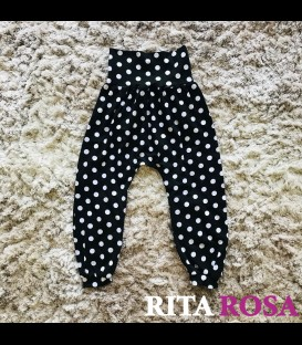 Hippie pants polka dots