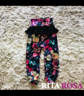 Hippie pants with ruffles AUTUMN
