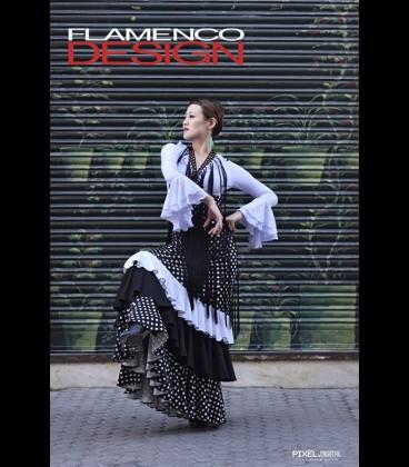 Professional flamenco skirt Modelo 22 dots
