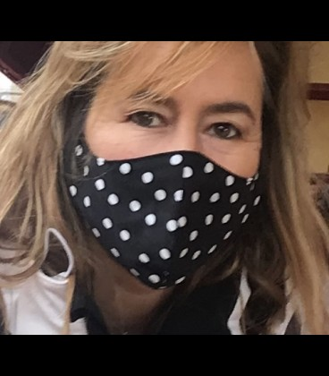 Washable adult's mask made from certified hidrófugo textile