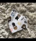 Mascarilla para niños de tela homologada hidrófugo (25 lavadas) Harry Potter