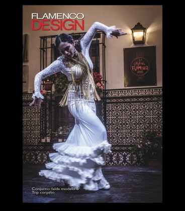 Flamenco dress Modell 8/peak lycra and lace