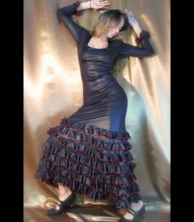 Vestido de flamenco alegrias lycra