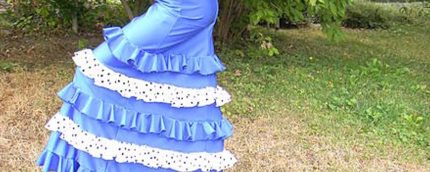 Hacemos faldas de niñas